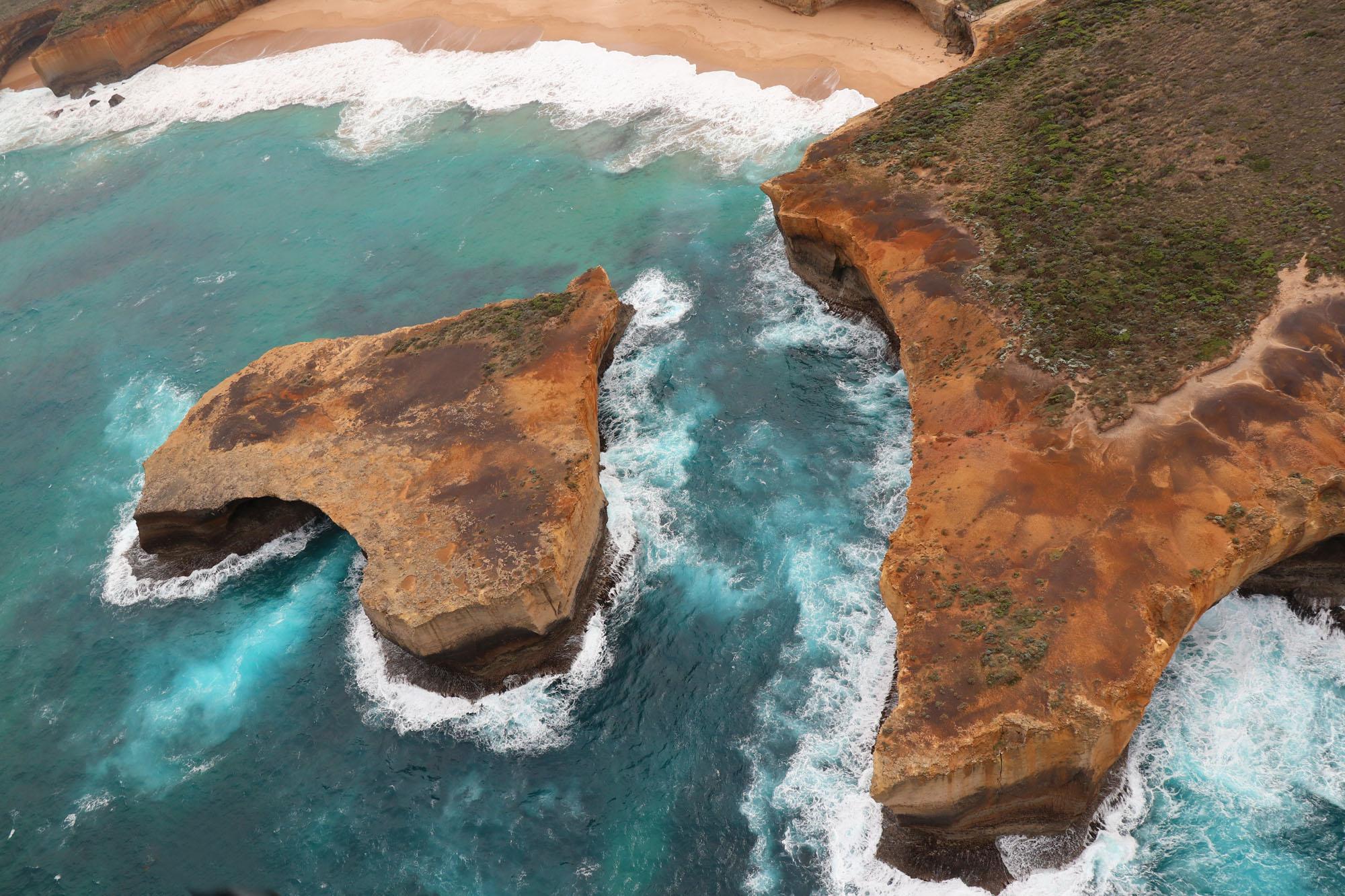 Australien, klippeformationer på nordkysten. BB Studio